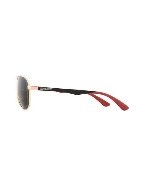 Scuderia Ferrari Online Store - Ray-Ban x Scuderia Ferrari Aviator Carbon Fiber Gold 0RB8313M - Sunglasses
