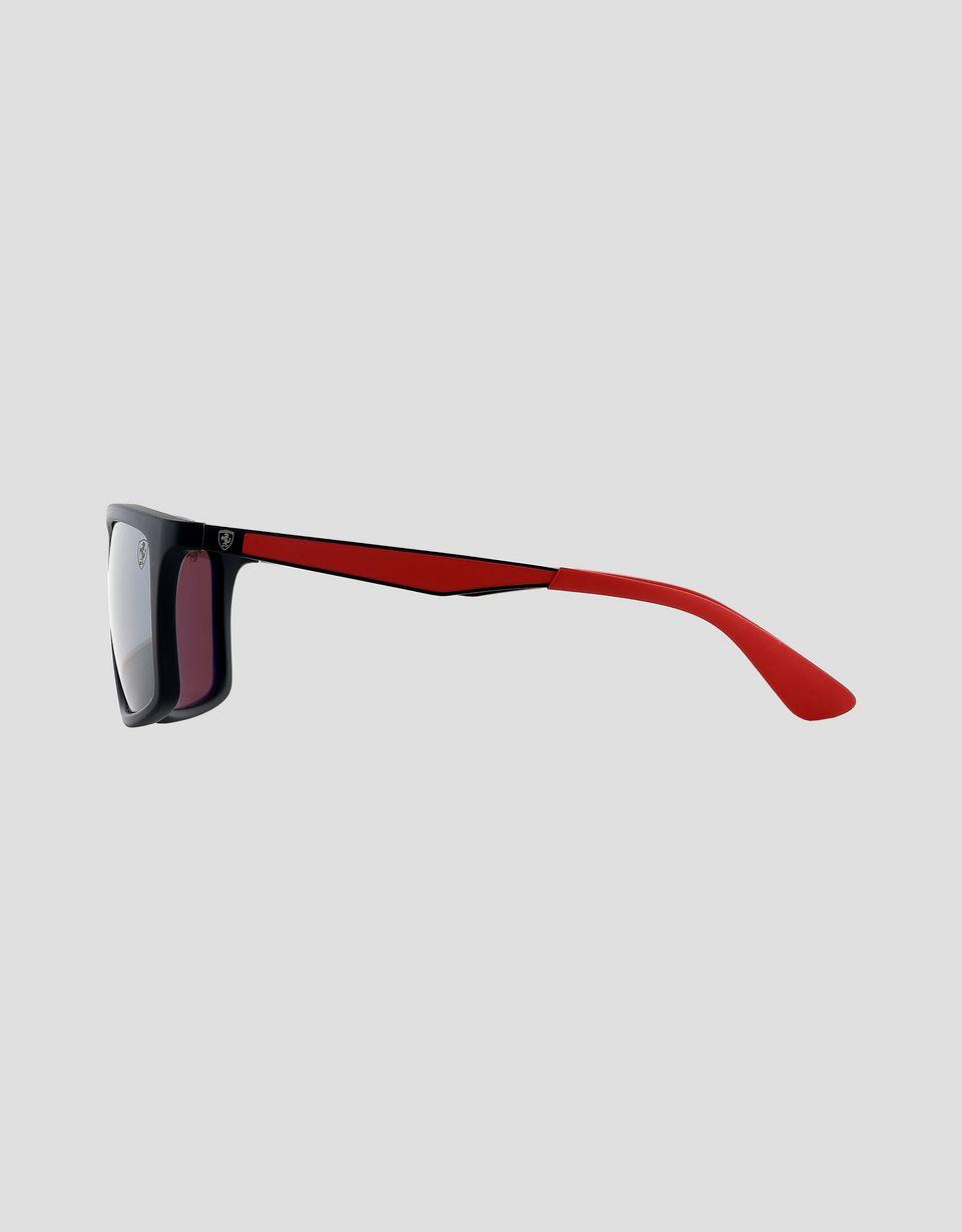 Scuderia Ferrari Online Store - Ray-Ban x Scuderia Ferrari Matte Black 0RB4228M - Sunglasses