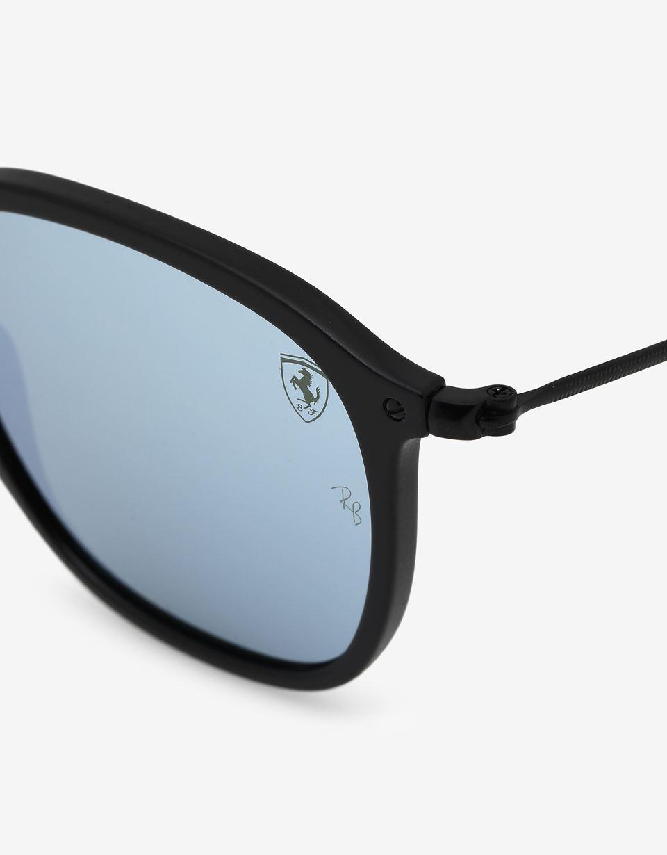 Scuderia Ferrari Online Store - Ray-Ban x Scuderia Ferrari Wayfarer Combo Matte Black 0RB2448NM - Sunglasses