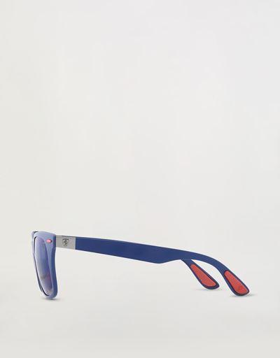 Scuderia Ferrari Online Store - Ray-Ban for Scuderia Ferrari Wayfarer Lite Force blu opaco 0RB4195M - Occhiali da Sole