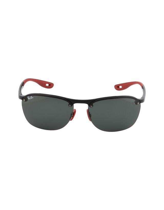 Scuderia Ferrari Online Store - Солнцезащитные очки RB4302M от Ray-Ban для Scuderia Ferrari - Солнцезащитные очки