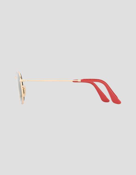 Scuderia Ferrari Online Store - Lunettes de soleil Ray-Ban for Scuderia Ferrari Hexagonal couleur dorée 0RB3548NM - Lunettes de soleil
