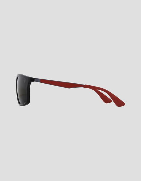 Scuderia Ferrari Online Store - Lunettes de soleil Ray-Ban for Scuderia Ferrari 0RB4228M couleur noir - Lunettes de soleil