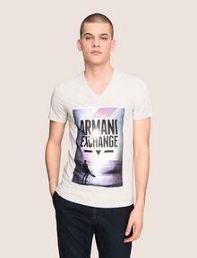 ARMANI EXCHANGE BOXED SURFER LOGO TEE Logo T-shirt Man f