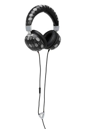 DOLCE & GABBANA Printed leather headphones