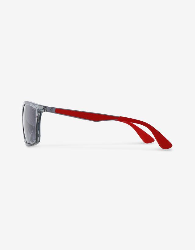 Scuderia Ferrari Online Store - Ray-Ban x Scuderia Ferrari Transparent Grey 0RB4228M - Sunglasses