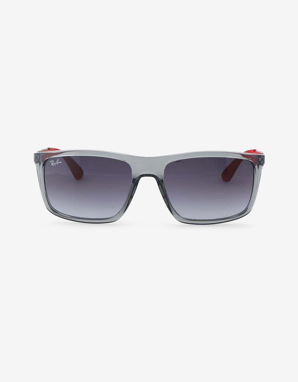 Scuderia Ferrari Online Store - Ray-Ban for Scuderia Ferrari 0RB4228M grigio trasparente - Occhiali da Sole