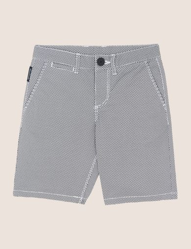 BOYS PRINTED CHINO SHORT