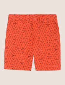 ARMANI EXCHANGE BOYS PRINTED CHINO SHORT Trouser Man f