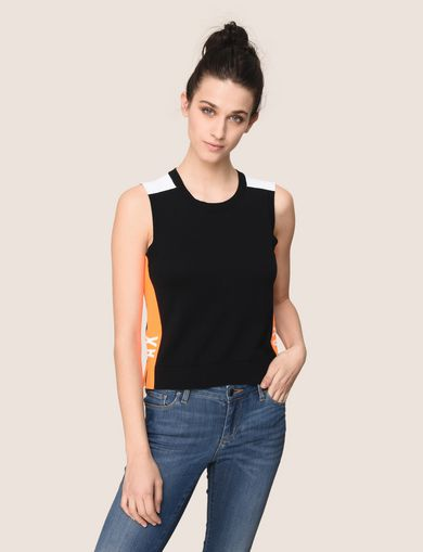 NEON LOGO SWEATER TANK