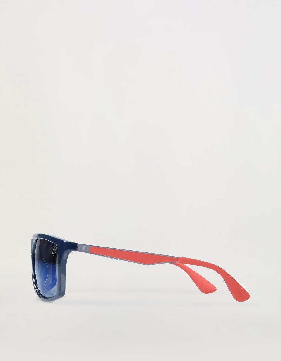 Scuderia Ferrari Online Store - Солнцезащитные очки 0RB4228M от Ray-Ban для Scuderia Ferrari синего цвета - Солнцезащитные очки