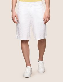 ARMANI EXCHANGE LINEN BLEND SHORT Shorts Man f