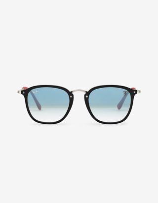 Scuderia Ferrari Online Store - Ray-Ban x Scuderia Ferrari Wayfarer Combo Black 0RB2448NM - Sunglasses