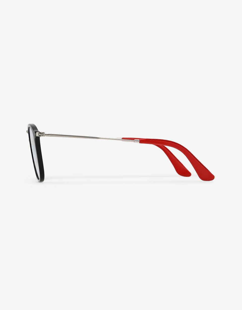 Scuderia Ferrari Online Store - Lunettes de soleil Ray-Ban for Scuderia Ferrari Wayfarer Combo couleur noir 0RB2448NM - Lunettes de soleil