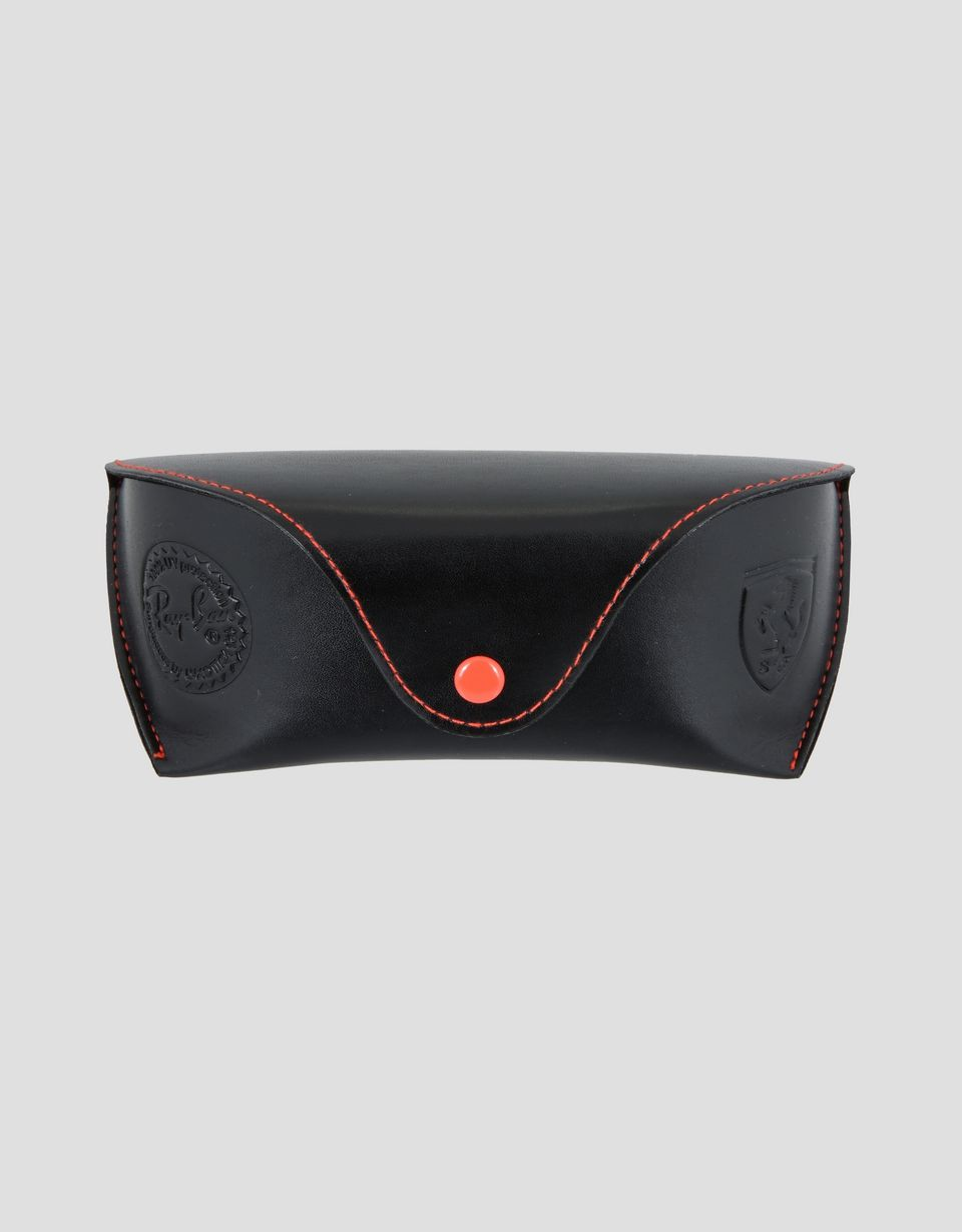 Scuderia Ferrari Online Store - Ray-Ban x Scuderia Ferrari Full Bar Carbon Fibre Grey 0RB8305M -