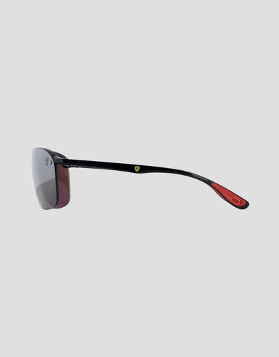 Scuderia Ferrari Online Store - Ray-Ban for Scuderia Ferrari RB4302M - Sunglasses
