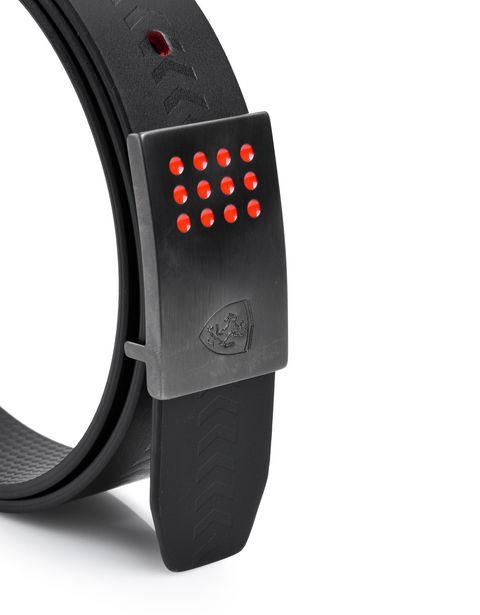 Scuderia Ferrari Online Store - Elegant men's reversible belt - Reversible Belts