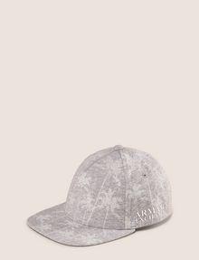 ARMANI EXCHANGE STRIPED PALMS PRINT HAT Hat Man f
