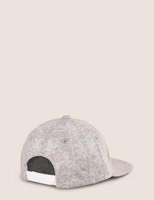 ARMANI EXCHANGE STRIPED PALMS PRINT HAT Hat Man r