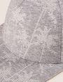 ARMANI EXCHANGE STRIPED PALMS PRINT HAT Hat Man d