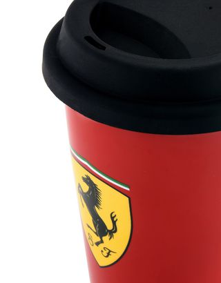 Scuderia Ferrari Online Store - Porcelain travel mug - Mugs & Cups