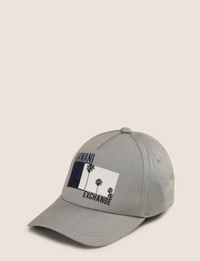 ARMANI EXCHANGE PALM PRINT LOGO HAT Hat Man f