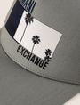 ARMANI EXCHANGE PALM PRINT LOGO HAT Hat Man d