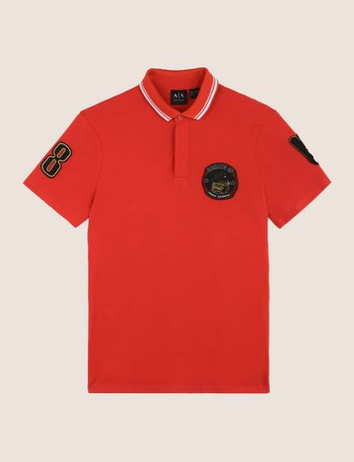 BULLDOG PATCH POLO