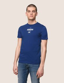 ARMANI EXCHANGE SUNSET AND WAVES LOGO TEE Logo T-shirt Man f