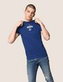 ARMANI EXCHANGE SUNSET AND WAVES LOGO TEE Logo T-shirt Man a