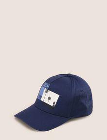 ARMANI EXCHANGE PALM PRINT LOGO HAT Hat Man f
