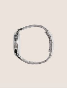 ARMANI EXCHANGE SILVER-TONED THIN BRACELET WATCH Fashion Watch [*** pickupInStoreShipping_info ***] a