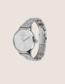 ARMANI EXCHANGE SILVER-TONED THIN BRACELET WATCH Watch Woman d