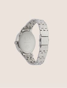 ARMANI EXCHANGE SILVER-TONED THIN BRACELET WATCH Watch Woman e