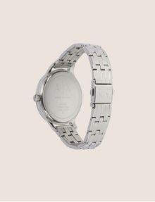 ARMANI EXCHANGE SILVER-TONED THIN BRACELET WATCH Fashion Watch [*** pickupInStoreShipping_info ***] e