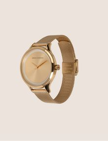 ARMANI EXCHANGE GOLD-TONED MESH BAND WATCH Watch Woman d