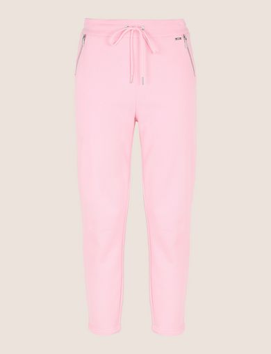 ZIP DETAIL CROPPED SWEATPANT