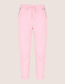ARMANI EXCHANGE ZIP DETAIL CROPPED SWEATPANT Fleece Pant Woman r