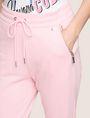 ARMANI EXCHANGE ZIP DETAIL CROPPED SWEATPANT Fleece Pant Woman b