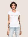 ARMANI EXCHANGE スパンコールロゴ Tシャツ ロゴTシャツ レディース f