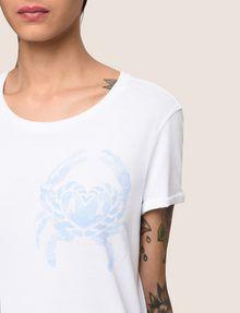 ARMANI EXCHANGE クラブプリント Tシャツ ロゴなしTシャツ レディース b