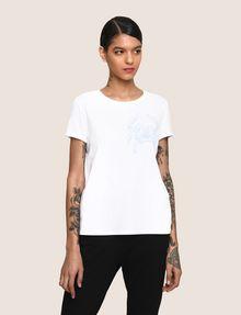 ARMANI EXCHANGE クラブプリント Tシャツ ロゴなしTシャツ レディース f