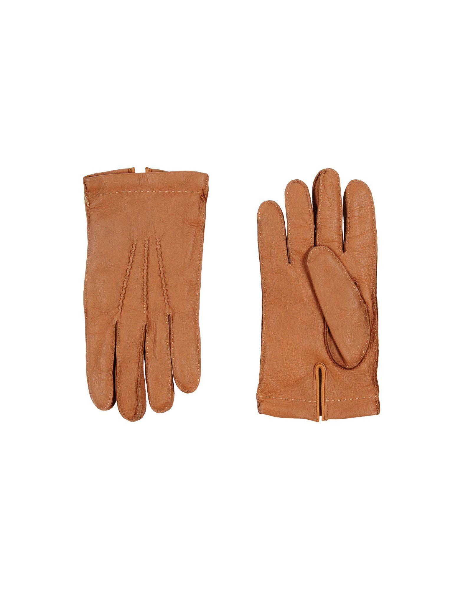 BALLANTYNE メンズ 手袋 タン L 革