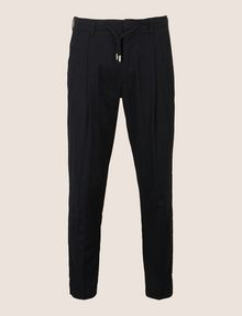 ARMANI EXCHANGE JACQUARD DRAWSTRING TAILORED JOGGER Fleece Trouser Man r