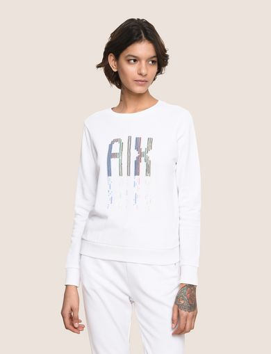 A|X INVADERS SEQUIN SWEATSHIRT TOP