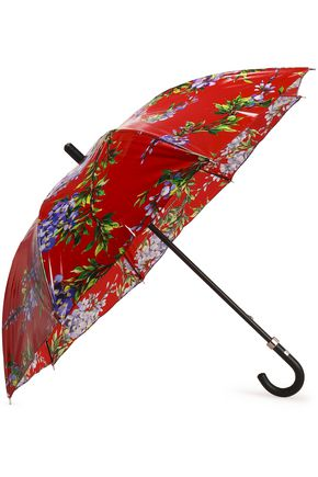 DOLCE & GABBANA Floral-print shell umbrella