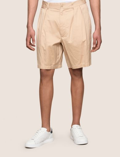 RELAXED-FIT PLEAT-FRONT SHORT
