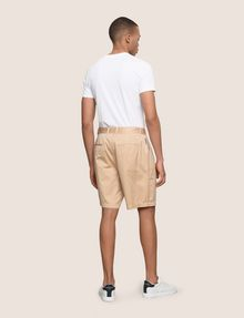ARMANI EXCHANGE RELAXED-FIT PLEAT-FRONT SHORT Short Man e