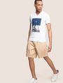 ARMANI EXCHANGE RELAXED-FIT PLEAT-FRONT SHORT Shorts Man a