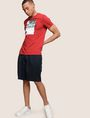 ARMANI EXCHANGE RELAXED-FIT PLEAT-FRONT SHORT Short Man a